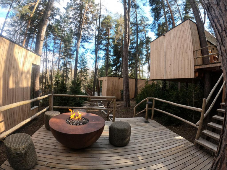 Adler-lodge-ritten-sauna-nel-bosco